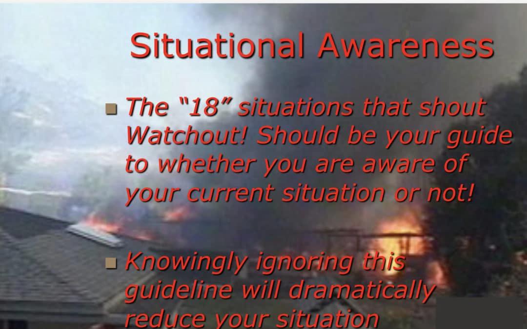 Wildland Situational Awareness