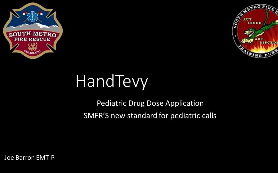 Hand Tevy 2 Training
